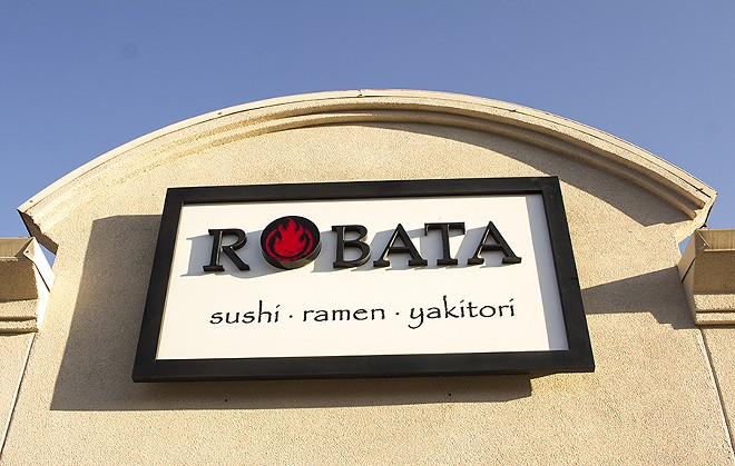 Robata is packed, but the servers keep things moving. - PHOTO BY MABEL SUEN