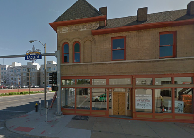The Gerhart building, which is under construction. - IMAGE VIA GOOGLE EARTH