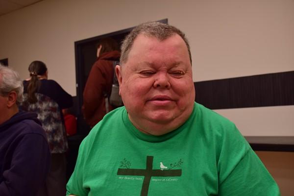 Bill Koppelmann offers advice at SASISTL's monthly meeting. - KATELYN MAE PETRIN