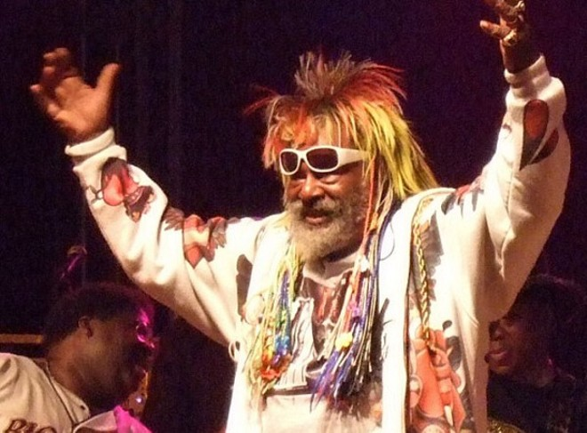 George Clinton and the Parliament-Funkadelic will perform at Forest Park on July 4 as part of Fair St. Louis. - PHOTO BY JOE LOONG/WIKIPEDIA