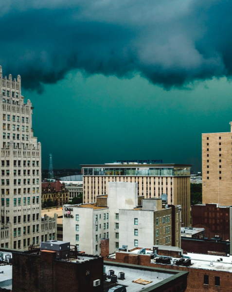St. Louis photographer Dylan Murphy tagged us in this amazing shot he posted on Instagram. You can see more of his awesome storm photos here. - PHOTO COURTESY OF INSTAGRAM / DYLANMURPHY.