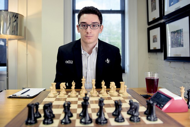 The newest U.S. Chess Champion, Fabiano Caruana. - PHOTO COURTESY OF SPECTRUM STUDIO