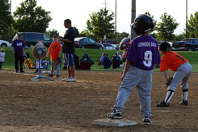 A Catholic Youth Council baseball game in Wisconsin. - PHOTO COURTESY OF FLICKR/KRISTINA ZUIDEMA