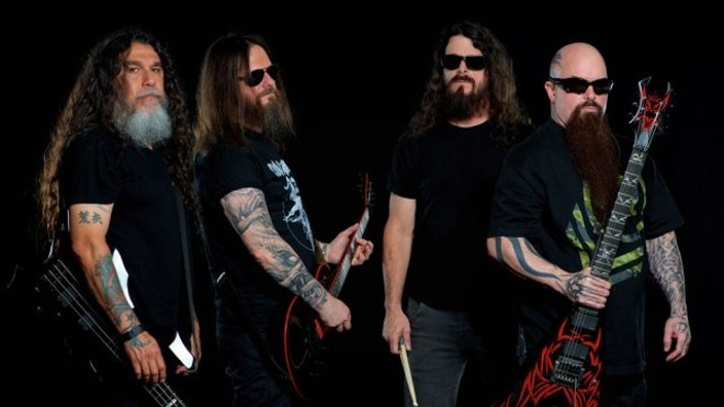 """""""Slayer"""" will perform at the Pageant on Thursday, September 22. - PRESS PHOTO"""