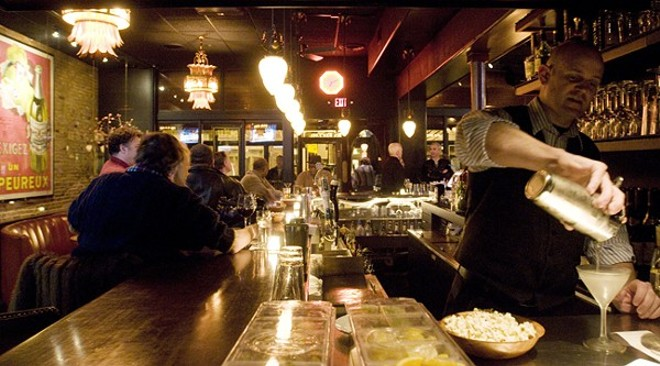 Herbie's bar was a hotspot for many years. - PHOTO BY JENNIFER SILVERBERG