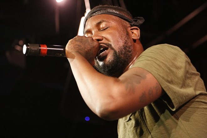 Catch Tef Poe on the main stage at this year's RFT Music Showcase. - PHOTO BY CHRIS HAZOU