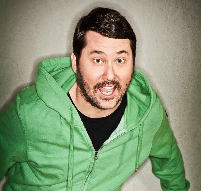 Doug Benson, hater of mayonnaise, lover of movies. - PHOTO BY ROBYN VAN SWANK