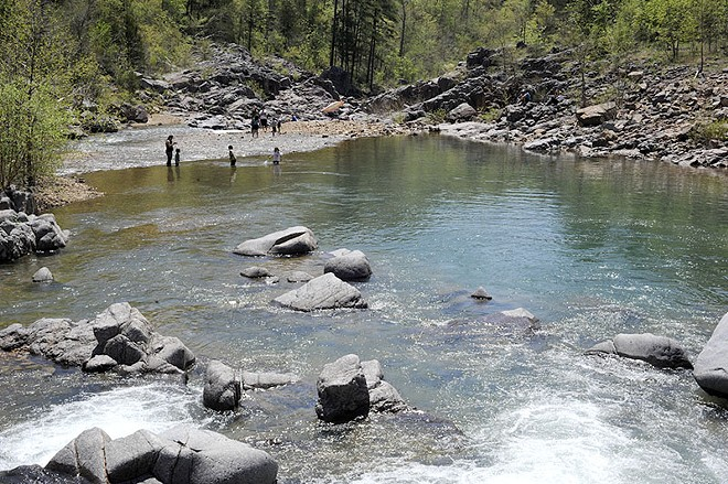 Another view of Johnson's Shut-Ins - PHOTO BY KELLY GLUECK
