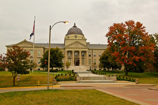 Southeast Missouri's Academic Hall has stood at the center of the Southeast Missouri State campus for more than 100 years. - PHOTO COURTESY OF FLICKR/MISSOURI DIVISION OF TOURISM