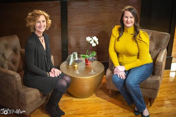Anne Cochran, left, and Venessa Schwarz. - BTP BY ALISON
