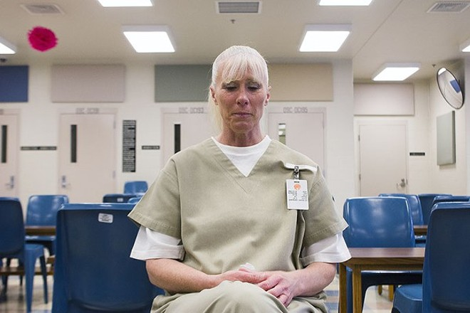 Alesia Rivera, 47, is serving a seven-year sentence after pleading guilty to a murder-for-hire plot. She says she's innocent. - DANNY WICENTOWSKI