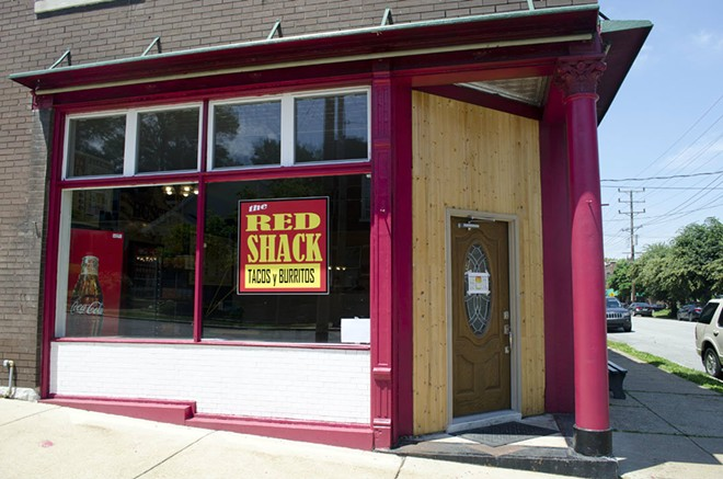 The Red Shack opened last Friday at 6401 West Park Avenue in the heart of Dogtown. - KAVAHN MANSOURI