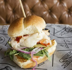 The lobster slider. - PHOTO BY MABEL SUEN