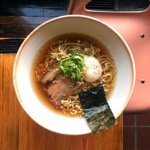VISTA Ramen offers three different types of ramen: VISTA style, veggie and spicy shrimp. - CASEY MILLER