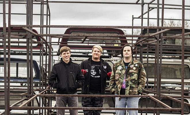 Hot off last year's Tried My Hardest, Trauma Harness continues to be one of St. Louis' enduring punk bands. - PHOTO BY MABEL SUEN