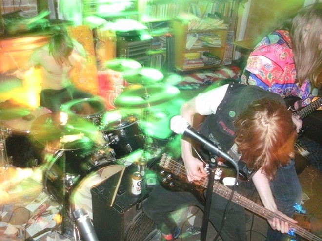 Catch Sunwyrm and more than 90 other acts at the RFT Music Showcase this Saturday, June 18. - PHOTO BY DOVE FLEETWOOD