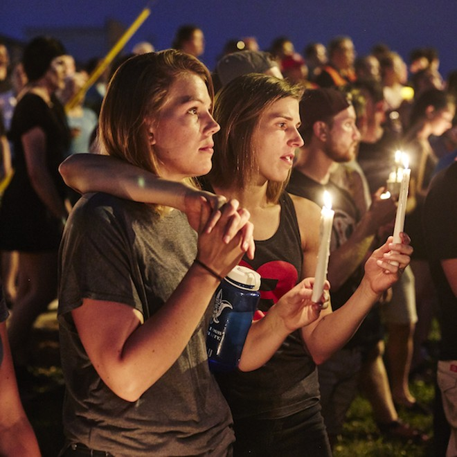 Denver Shooting Transgender: Thousands Gather In St. Louis To Mourn Victims Of Orlando