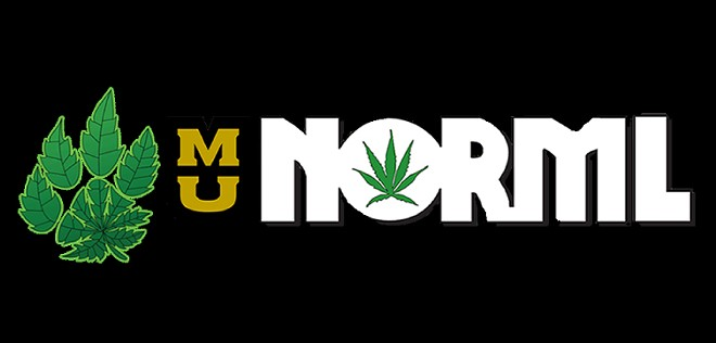 NORML's old logo was used on campus for years.