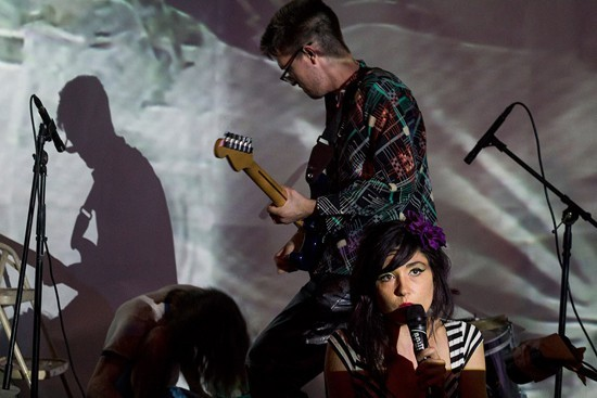 Mister Ben and Blyre Cpanx lead noise collective Beauty Pageant. - PHOTO BY MABEL SUEN