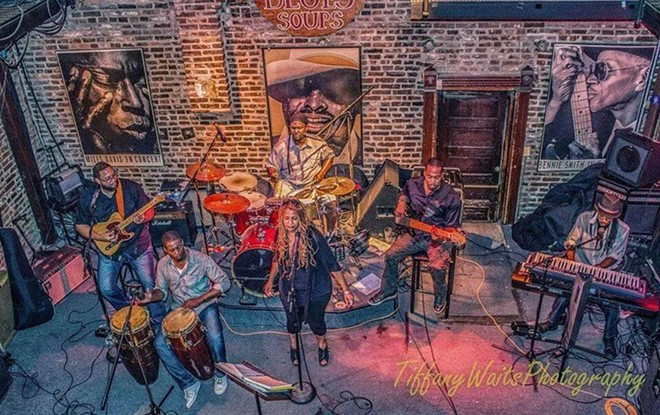 """Love Jones """"The Band"""" remains a favorite in St. Louis' R&B scene. - PHOTO BY TIFFANY WAITS PHOTOGRAPHY, FEATURED ON LOVE JONE """"THE BAND'S"""" FACEBOOK PAGE"""