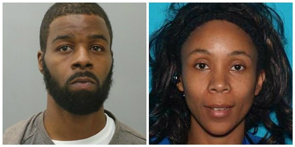 Semaj Porter and Shawmane Robinson lost their son, Xavier, in December. - IMAGES VIA ST. LOUIS COUNTY POLICE