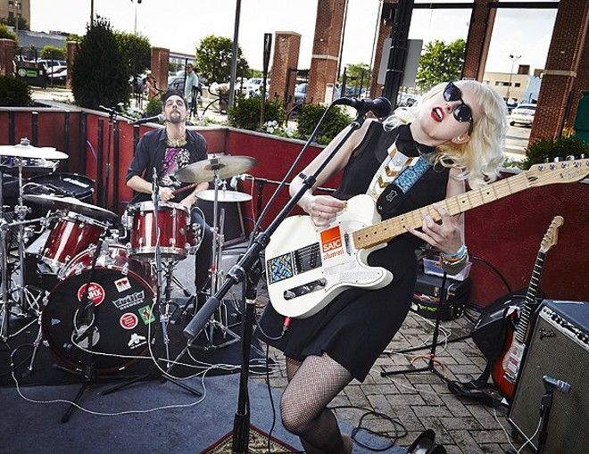 Sleepy Kitty will again perform at this year's RFT Music Showcase on Saturday. - PHOTO BY STEVE TRUESDELL