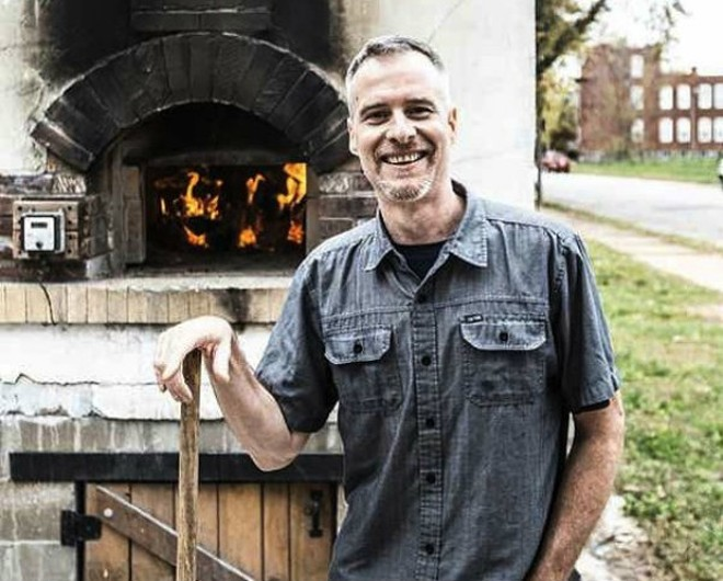 Barry Kinder is now manning the ovens at Grove East Provisions. - JENNIFER SILVERBERG