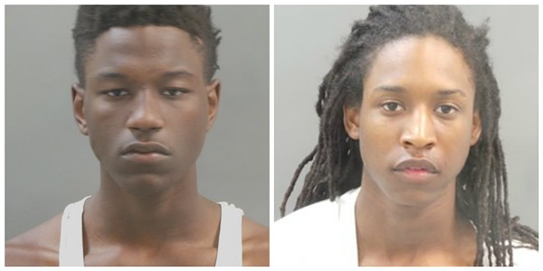 Jerry Hampton, left, fired the shot that hit a three-year-old, police say. - IMAGE VIA ST. LOUIS METRO POLICE