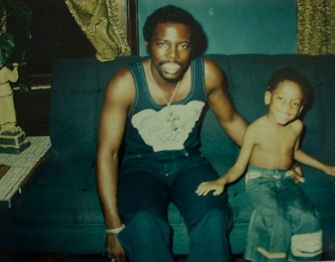 Aaron Reddick's tough-love approach helped Adonis learn independence from an early age. - COURTESY REDDICK FAMILY