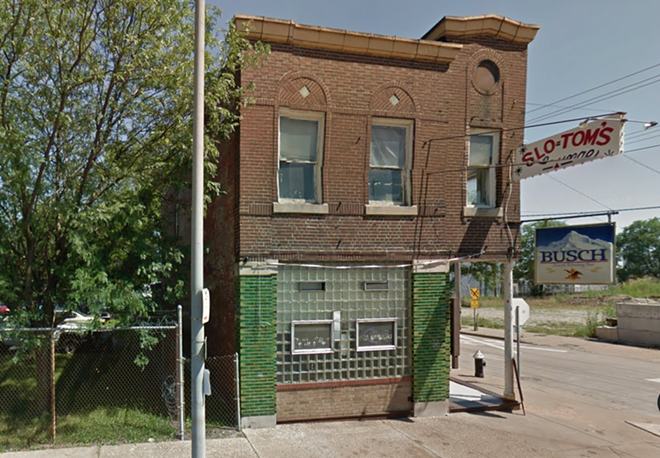 The Slo-Tom's site sits deep in south St. Louis. - IMAGE VIA GOOGLE EARTH