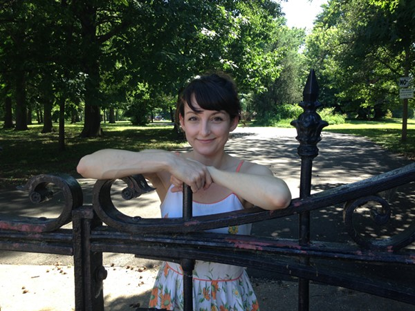 Autumn Wiggins is bringing the Strange Folk Festival to Lafayette Square in September. - PHOTO BY DOYLE MURPHY