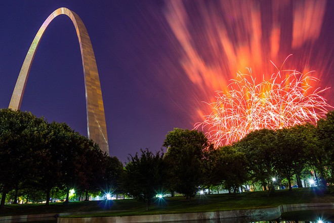 St. Louis placed sixth in a report of the best cities to celebrate the Fourth of July. - PHOTO COURTESY OF FLICKR/PHILIP LEARA