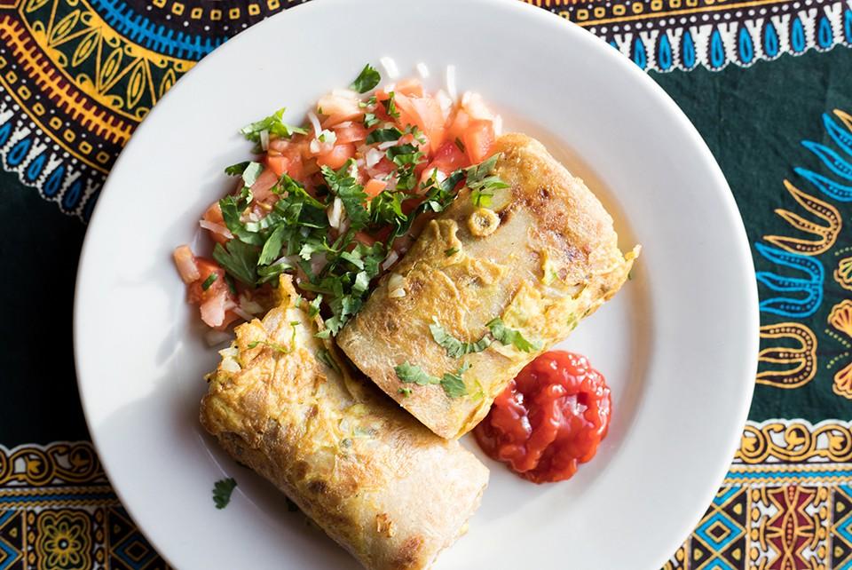 Simba Ugandan Cuisine excels in University City. - MABEL SUEN
