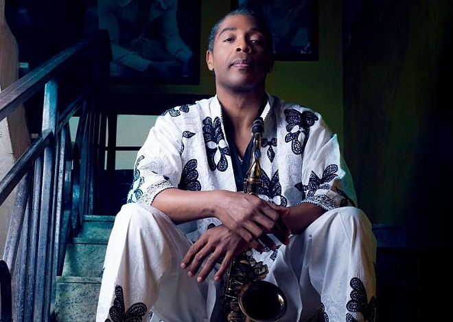 Femi Kuti & the Positive Force will perform at the Ready Room on Saturday. - PRESS PHOTO VIA ROCK PAPER SCISSORS