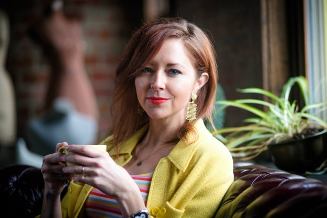 Jessie Mueller is getting back to her roots at Rise Coffee. - JEN WEST