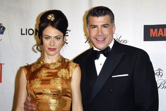 Bryan Batt, shown with Mad Men co-star Maggie Siff. - S_BUKLEY/SHUTTERSTOCK.COM