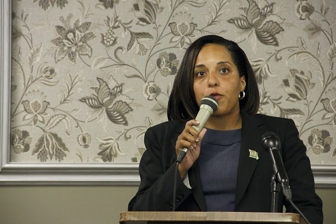 Kimberly Gardner is a registered nurse, state representative and former St. Louis prosecutor. - PHOTO BY DANNY WICENTOWSKI