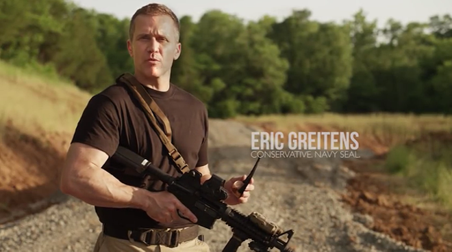 Greitens' set the tone of the primary election with a   TV ad highlighting his shooting skills. - VIA YOUTUBE