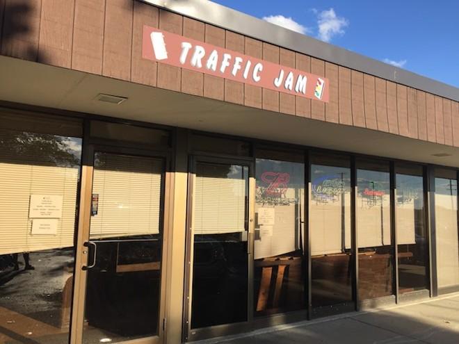 Traffic Jam's many virtues include a shuffleboard league. - PHOTO BY KEVIN KORINEK