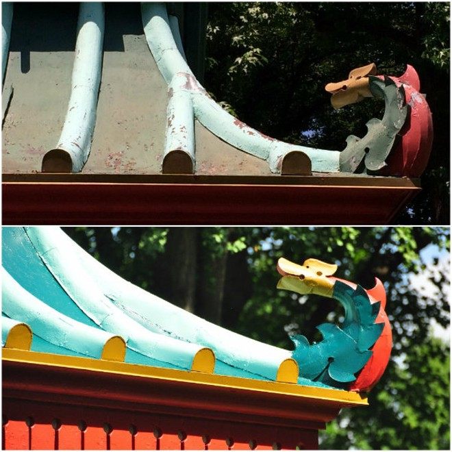 Quite the difference! - PHOTO COURTESY OF TOWER GROVE PARK.