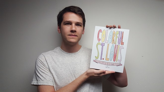 Ryan Rich's new coloring book mocks St. Louis — gently.