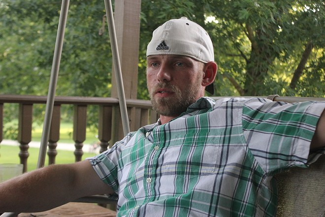 Justin King is the spitting image of his murdered father, his mother says. - PHOTO BY DOYLE MURPHY