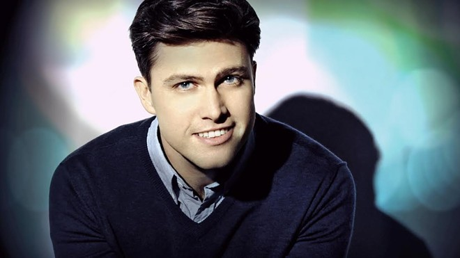 SNL Cast member Colin Jost is bringing laughs to The Pageant Saturday Aug. 20. - PHOTO BY RYAN FARMER