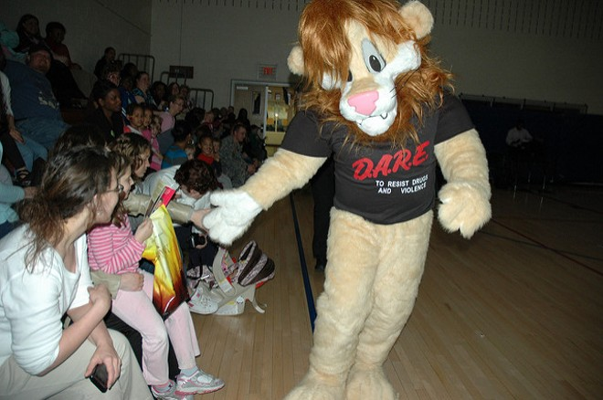 Are we still letting this pantsless lion determine drug policy? - VIA FLICKR/ABERDEEN PROVING GROUND