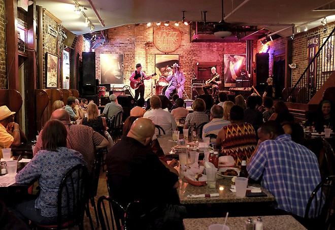 If you're at BB's, you're learning the blues. - HOLLY RAVAZZOLO