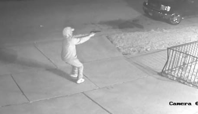 A gunman was caught on video during a March 18 shooting. - COURTESY ST. LOUIS POLICE
