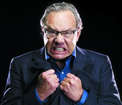 Lewis Black is mad, he's bad and he's ready to rant. - CLAY MCBRIDE