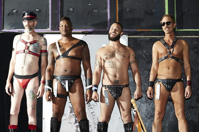 JJ's Clubhouse has long been host to the Mr. Midwest Leather competition. - THEO WELLING
