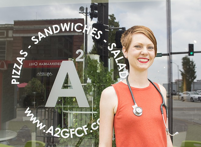 Owner Audrey Faulstich is an RN on a mission to improve health through food. - PHOTO BY MABEL SUEN