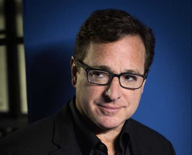 Bob Saget performs comedy! We seen him! And you can too. - PHOTO BY BRIAN FRIEDMAN